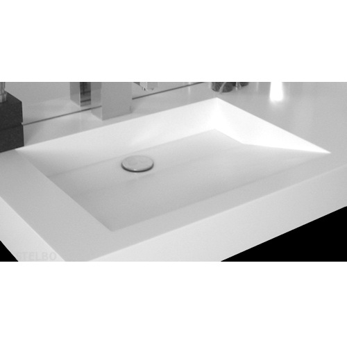 håndvaske til badeværelse i farve