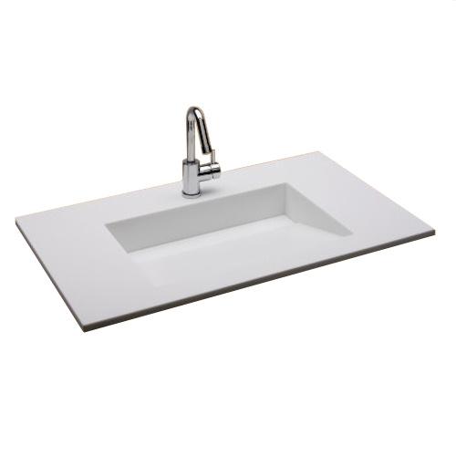 Seriøst Håndvask til bad med skrå bund og skjult afløb VD36