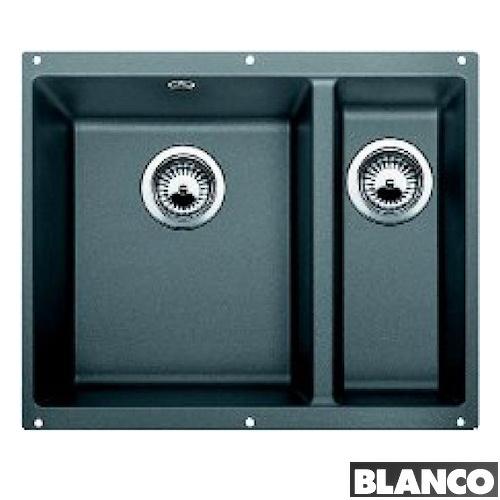 Blanco Subline 340/160-U Silgranit Alu-metallic 55,5x46 cm